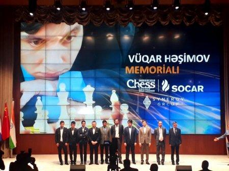 Vüqar Həşimov Memorialı start götürdü