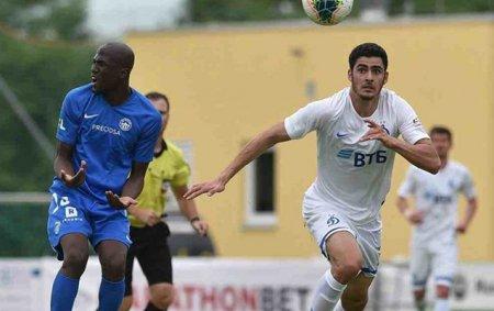 """Ramil """"Dinamo""""nun heyətində rəsmi oyuna çıxdı"""