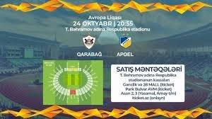APOEL ilə oyunun biletləri satışa çıxarıldı