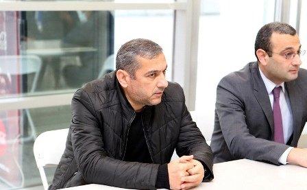 Yunis Hüseynov Antalyaya gedir