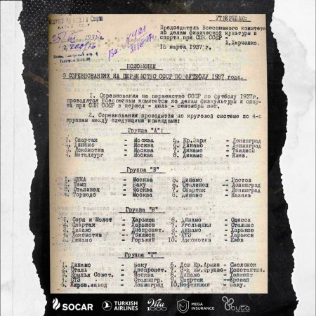 """Neftçi"" 1937-ci ilin martında yox, yanvarında yaranıb"