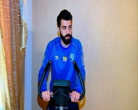 """Yaşar Vahabzadə """"Kəpəz""""in futbolçularına kökəlməməyi tapşırıb"""