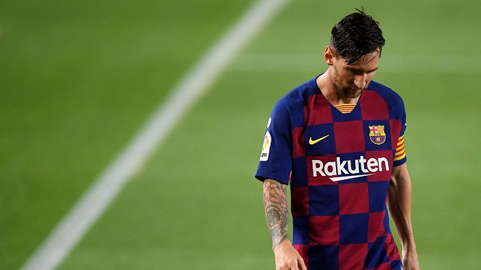 Messi odla oynayır